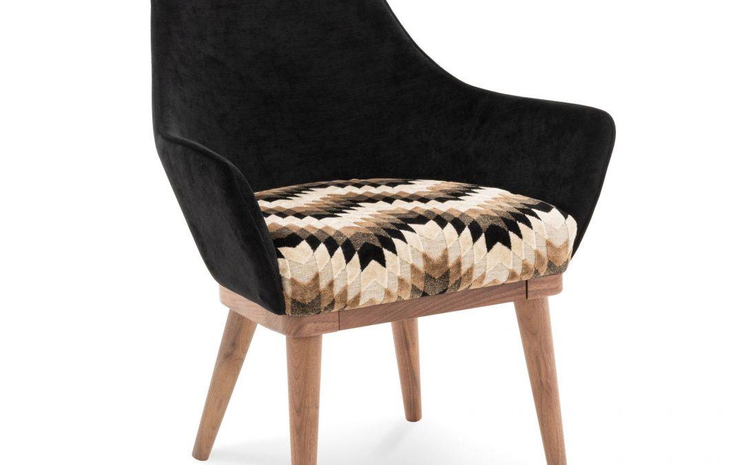 Krzesło Fava Amaranth