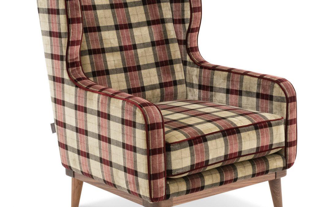 Fotel Mureno Amaranth